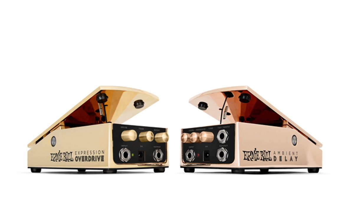 Ernie Ball Introduces Overdrive and Ambient Delay Expression Pedals