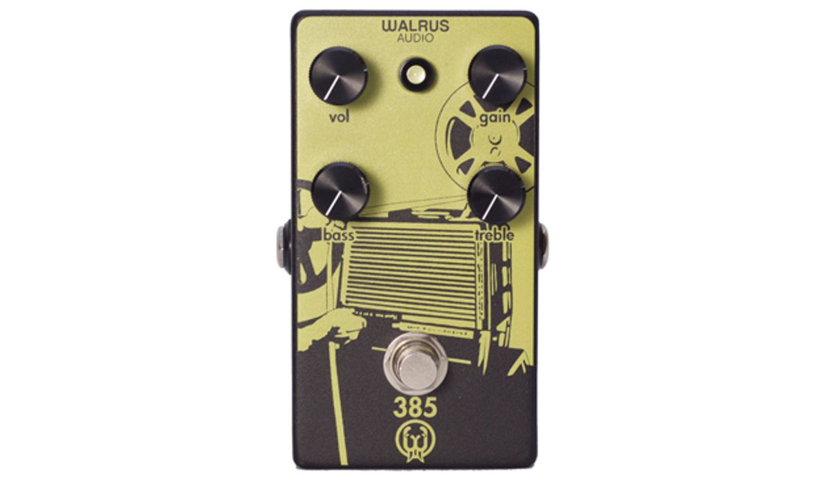 Walrus Audio Announces the 385 Overdrive