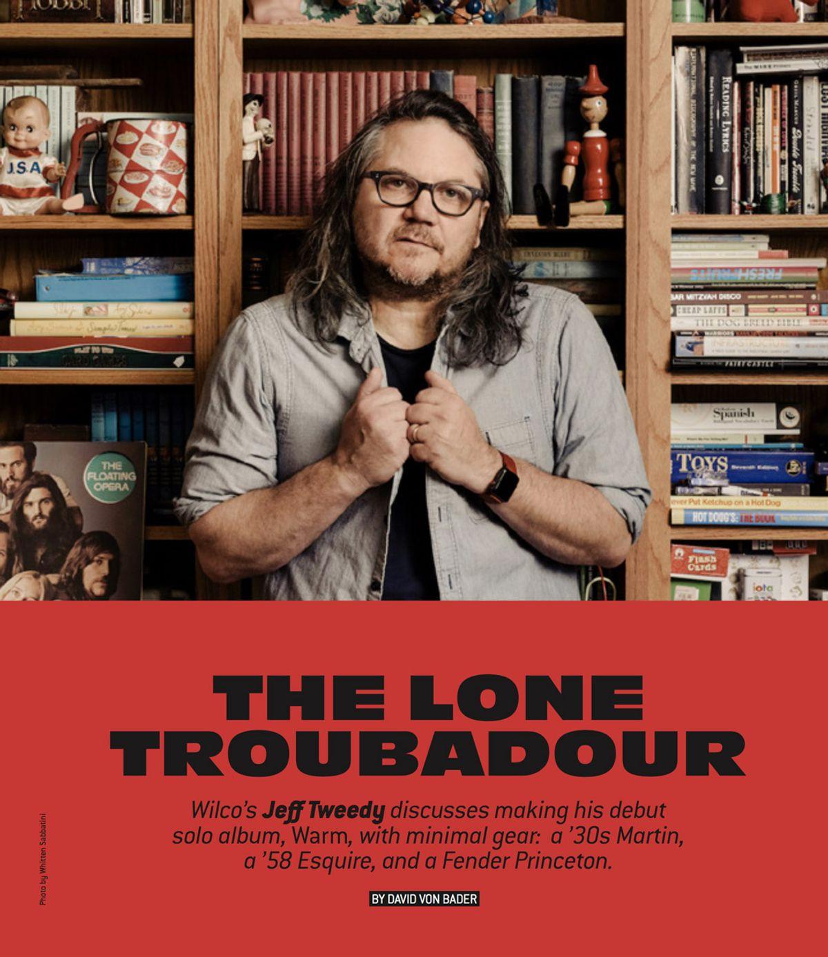 Jeff Tweedy: The Lone Troubadour