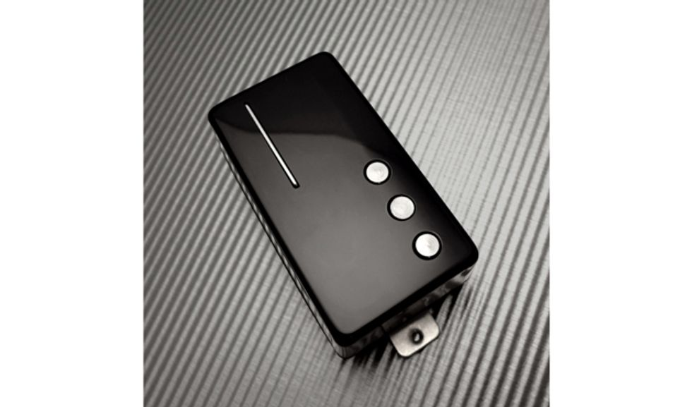 Railhammer Huevos 90 Bridge Humcutter Pickup Black