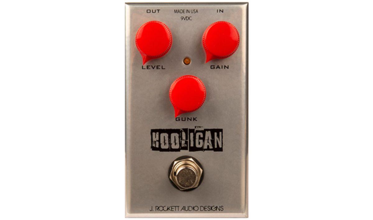 J. Rockett Audio Designs Unveils the Hooligan Fuzz