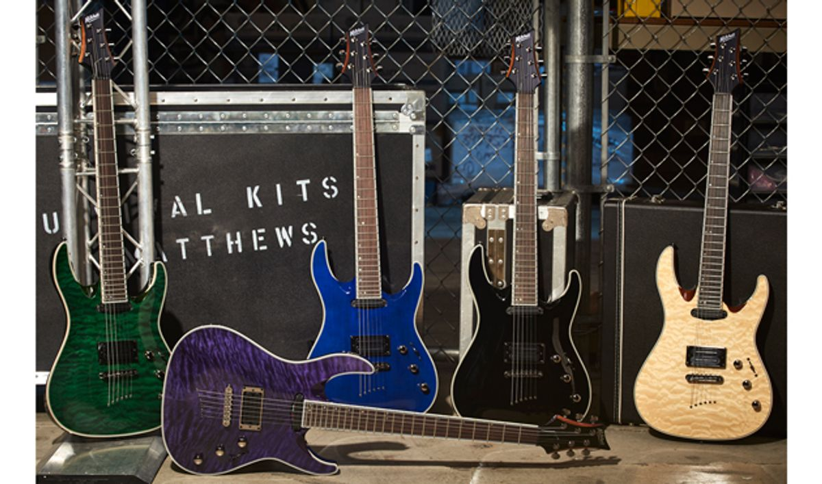 Mitchell Debuts Line of Electric Guitars and Basses