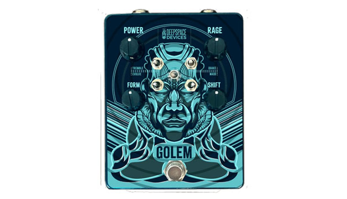 Deep Space Devices Introduces the Golem Overdrive