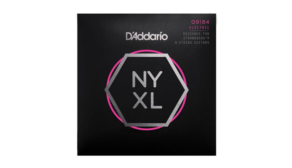 D'Addario Launches New NYXL String Sets for Strandberg Guitars