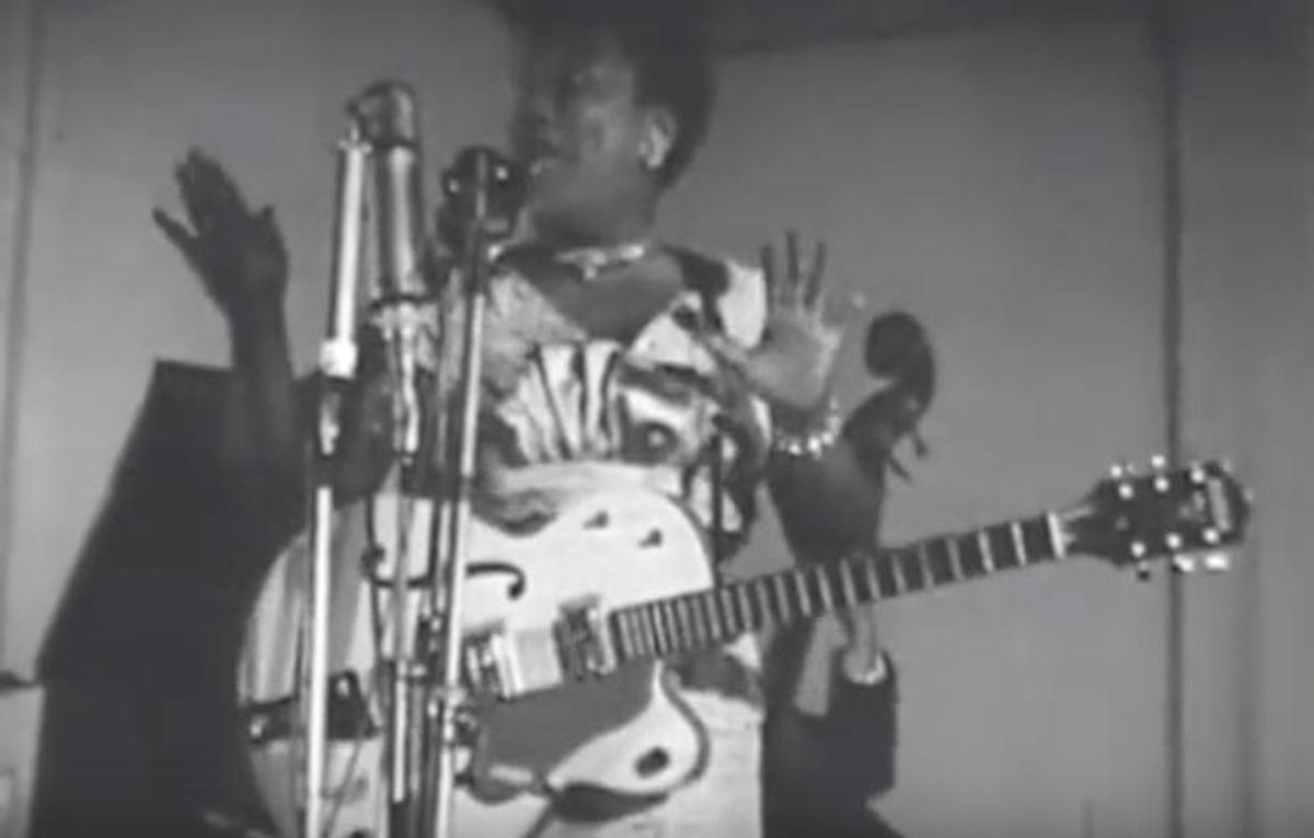 Dr. Molly's Guitar Lab: The Badass Riffs of Sister Rosetta Tharpe