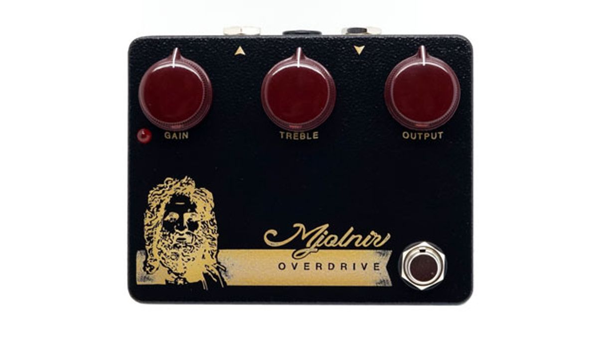 Mythos Pedals Introduces the Wildwood Edition Mjolnir Overdrive
