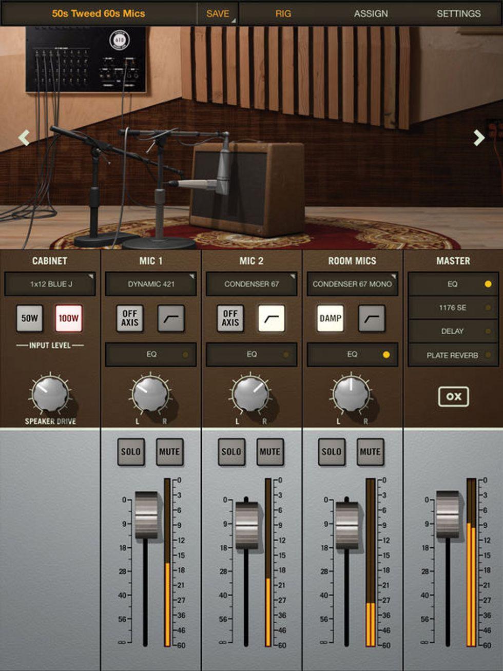 the recording guitarist recording electric guitar multi mic options premier guitar. Black Bedroom Furniture Sets. Home Design Ideas