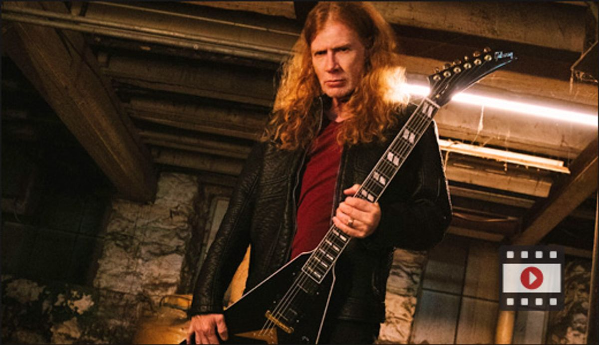 Gibson Announces Dave Mustaine As Brand Ambassador—Unveils Four New Models