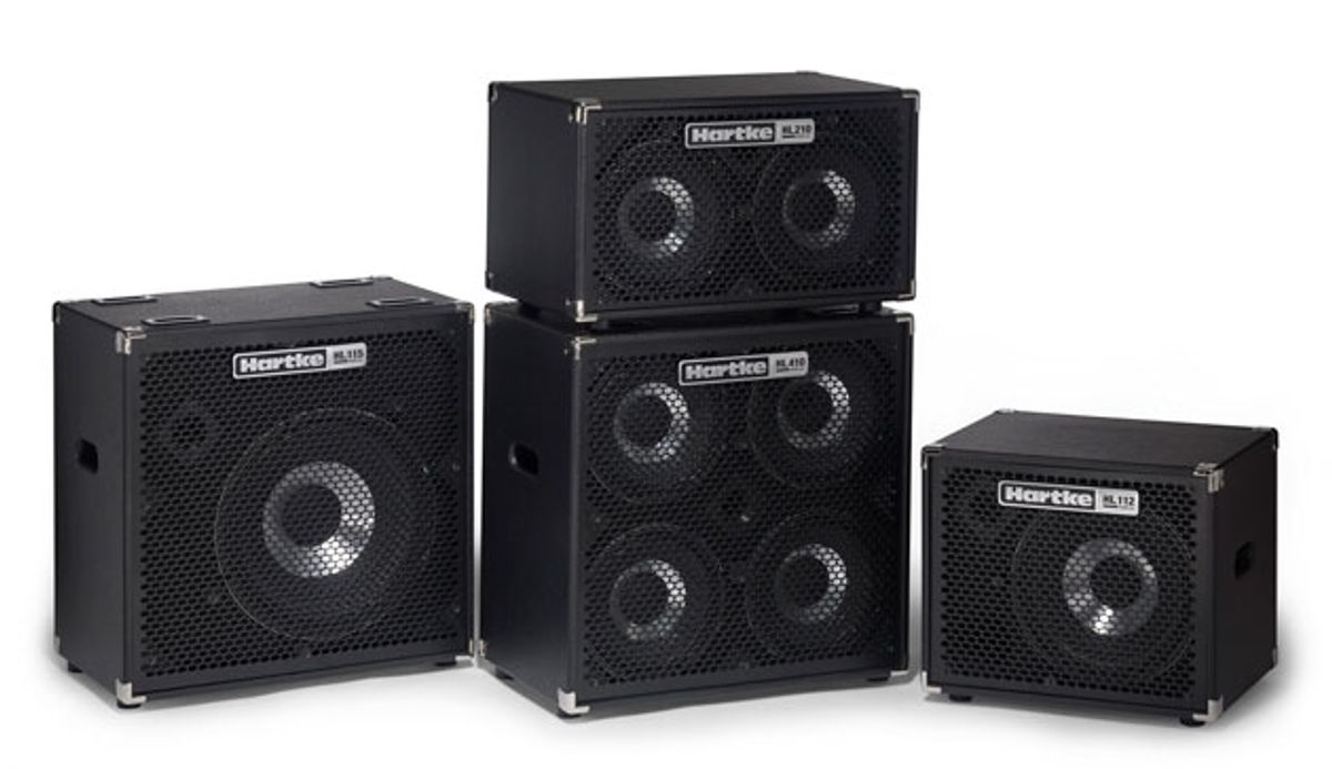 Hartke Introduces HyDrive HL Series Bass Cabinets