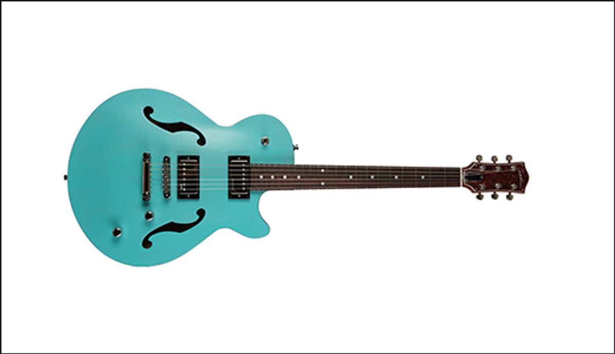 Godin Guitars Launches the Montreal Premiere HT Laguna Blue