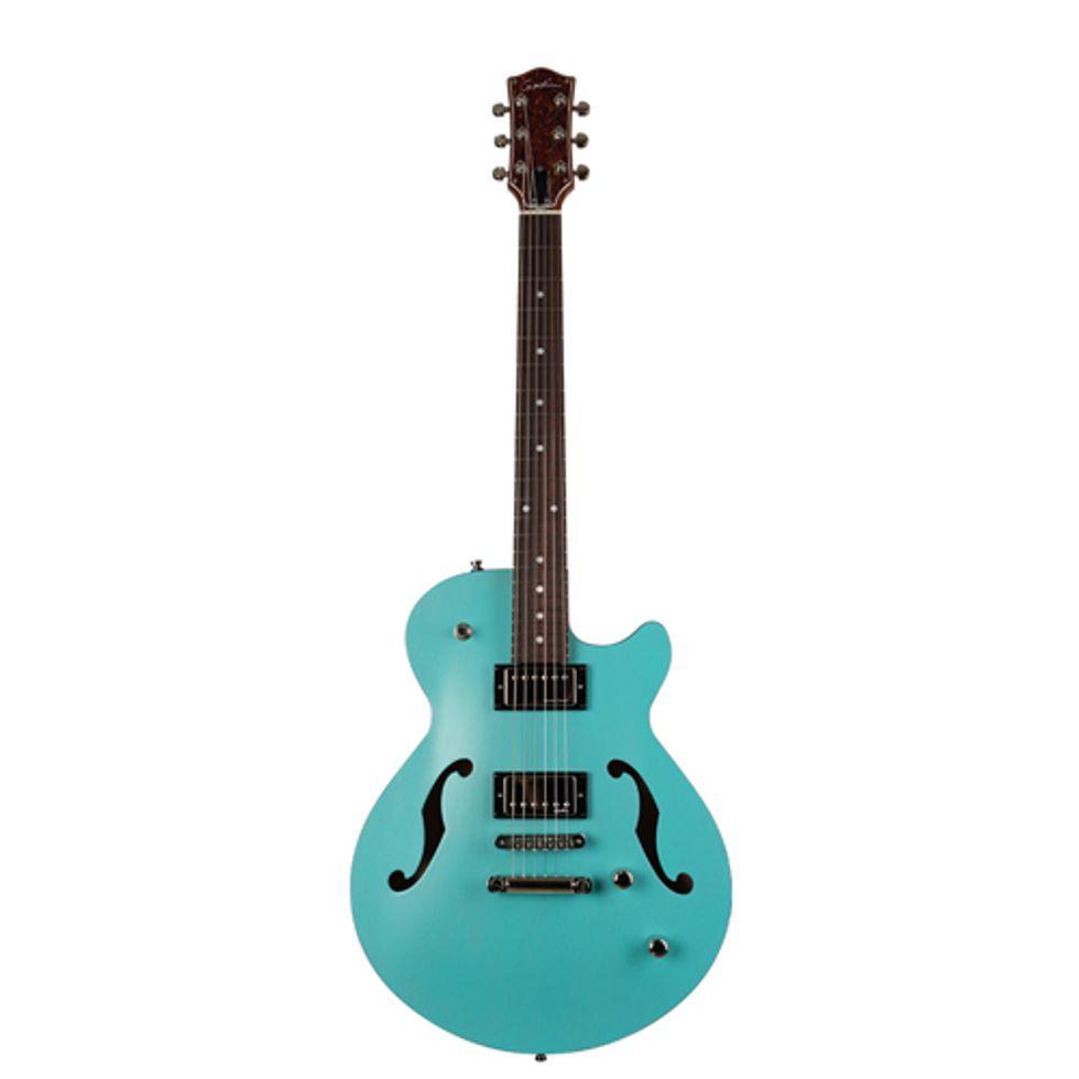 Godin Guitars Launches the Montreal Premiere HT Laguna Blue