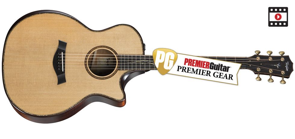 Taylor Builders Edition K14ce Review Premier Guitar