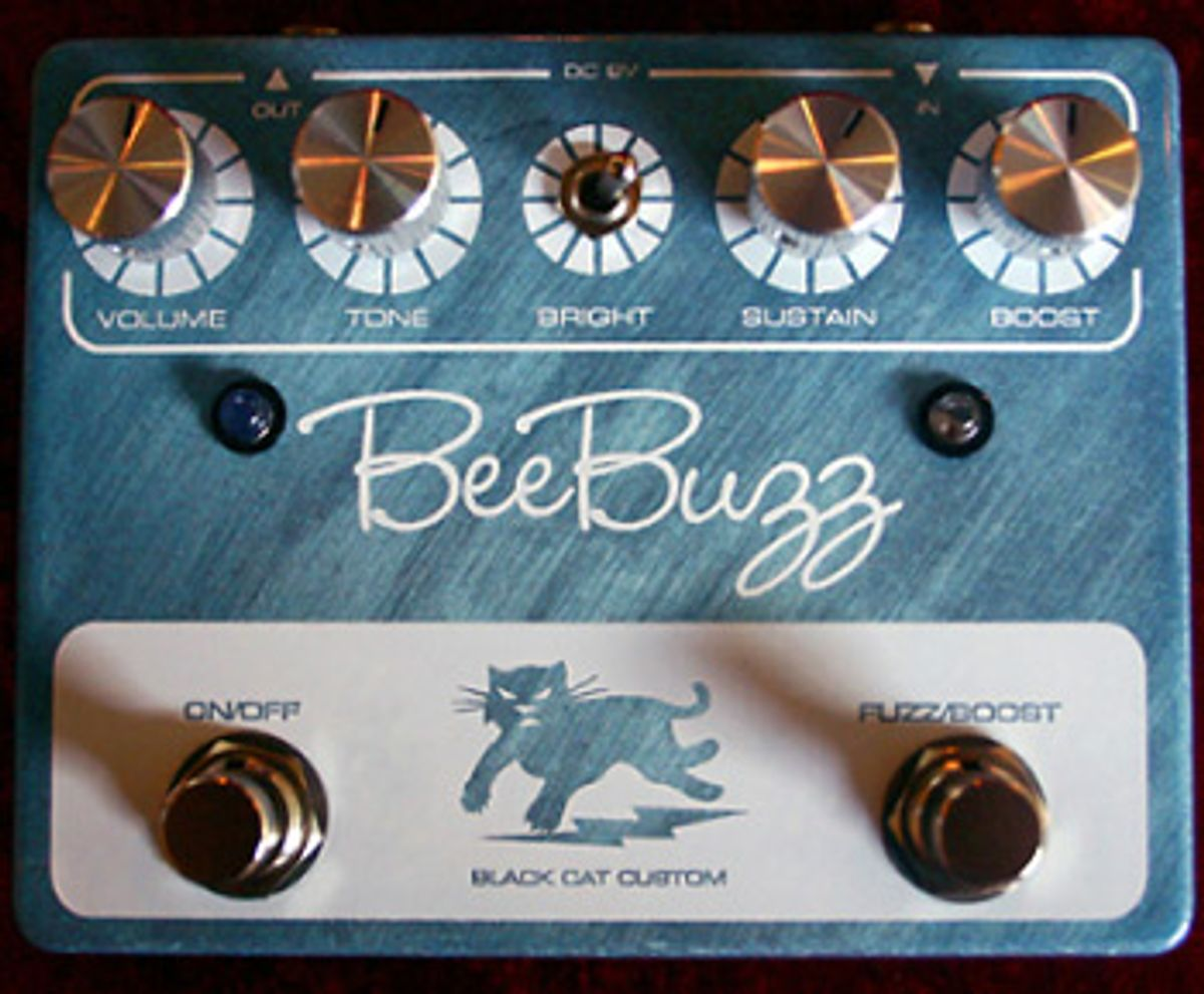 Black Cat Pedals Introduces Bee Buzz Pedal