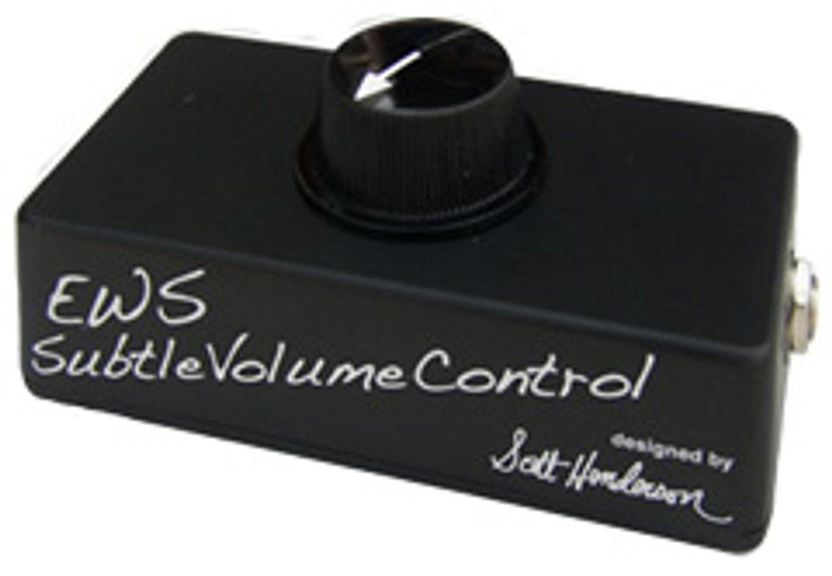 E.W.S. Announces Scott Henderson Subtle Volume Control