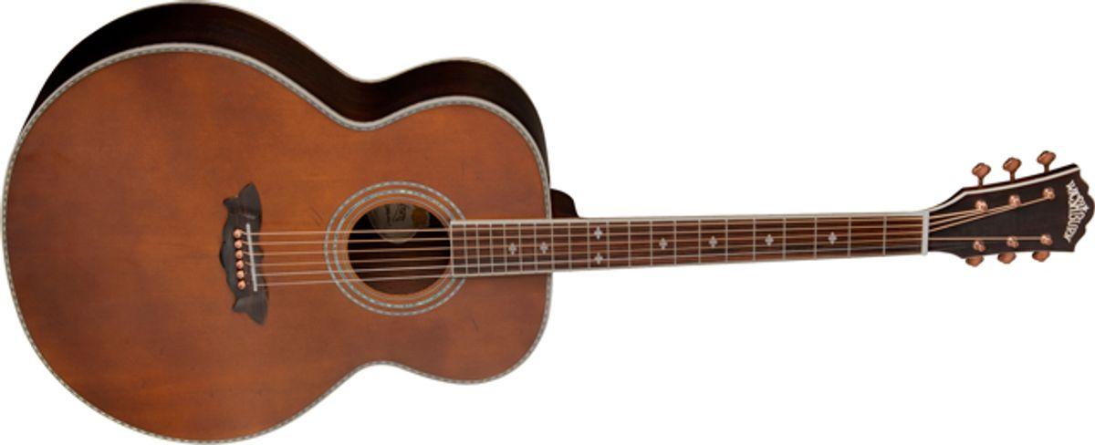 Washburn Guitars Introduces the WJ130EK Acoustic/Electric Guitar