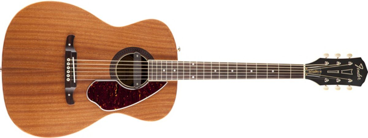 Fender Releases Tim Armstrong Deluxe Acoustic Guitar