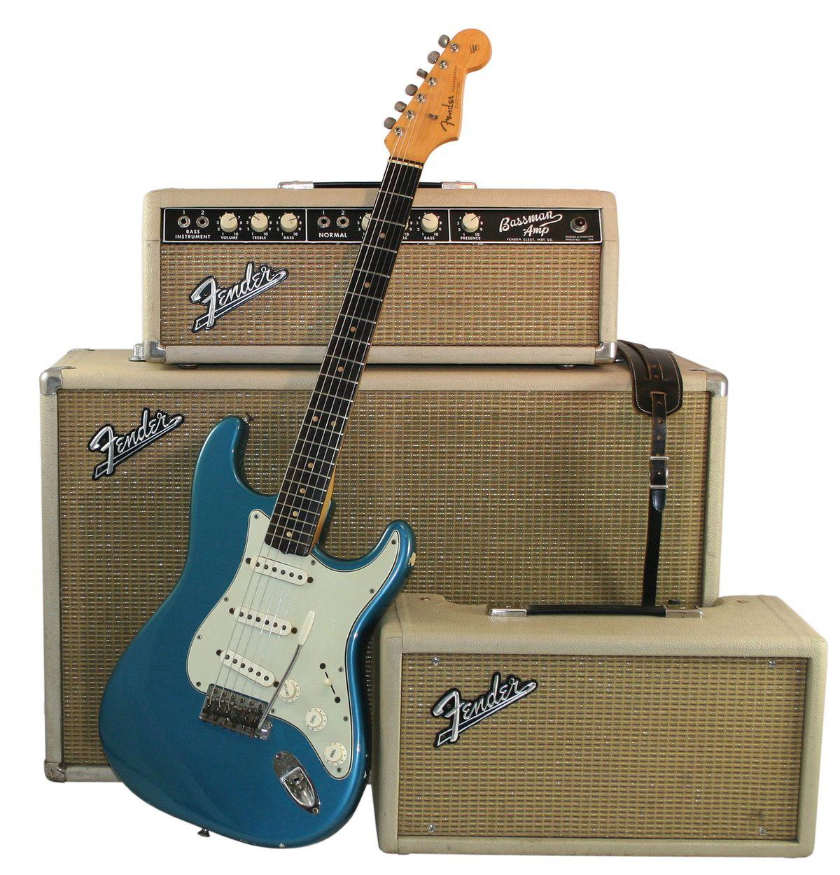 1964 Fender Stratocaster Lake Placid Blue Serial #L20674