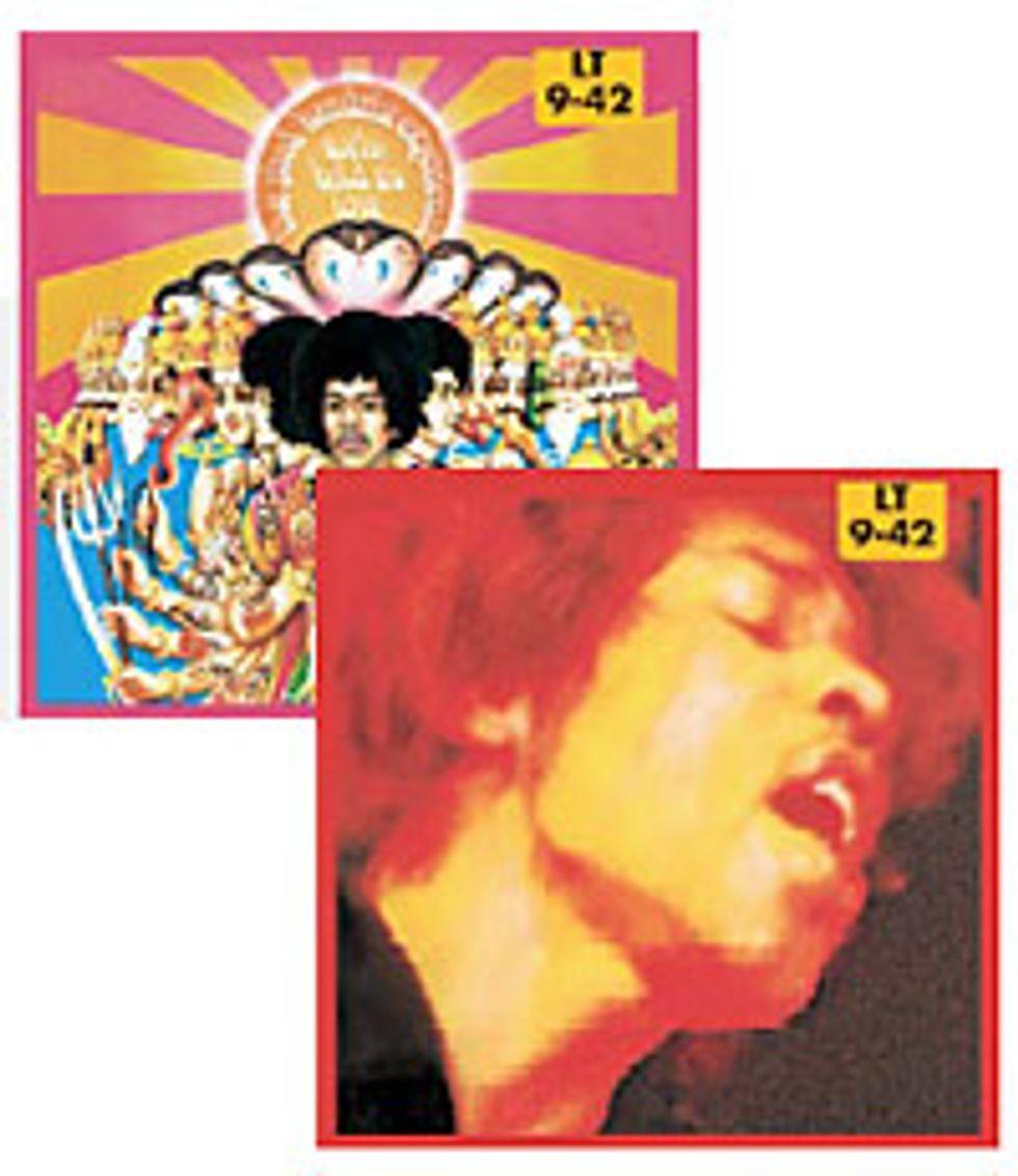 Dean Markley Jimi Hendrix Electric Guitar Strings