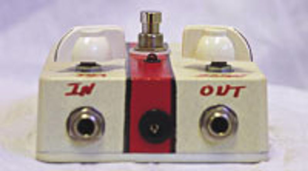 HipKitty Cream Distortion Pedal