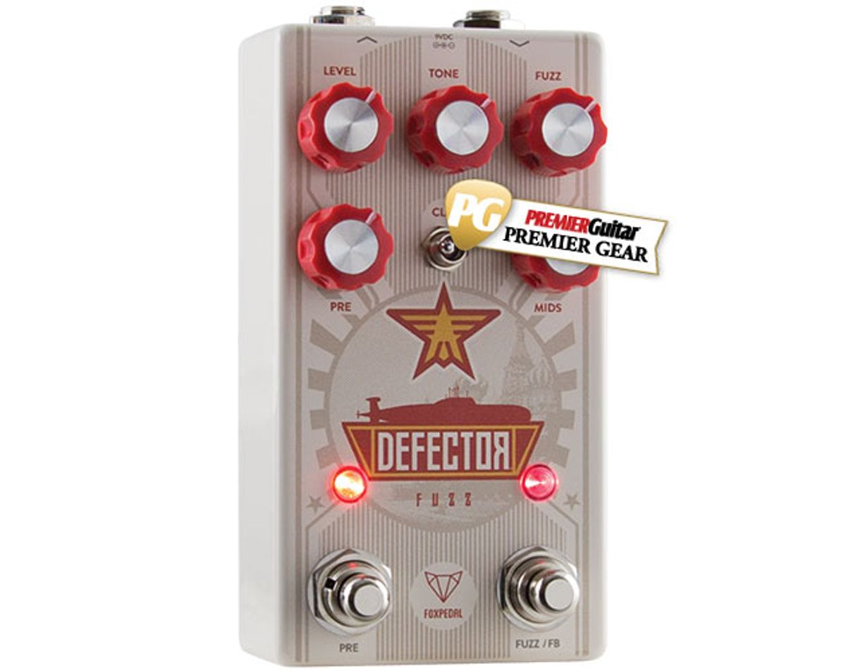 Quick Hit: Foxpedal Defector Fuzz Review