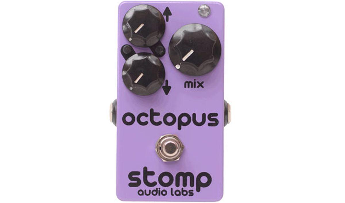 Stomp Audio Unveils the Octopus Octaver