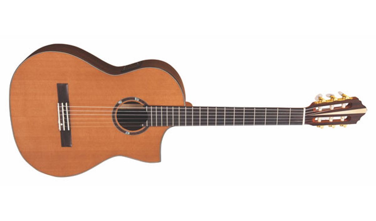 Vintage Announces the Roger Williams Nylon Electro-Acoustic Crossover Guitar