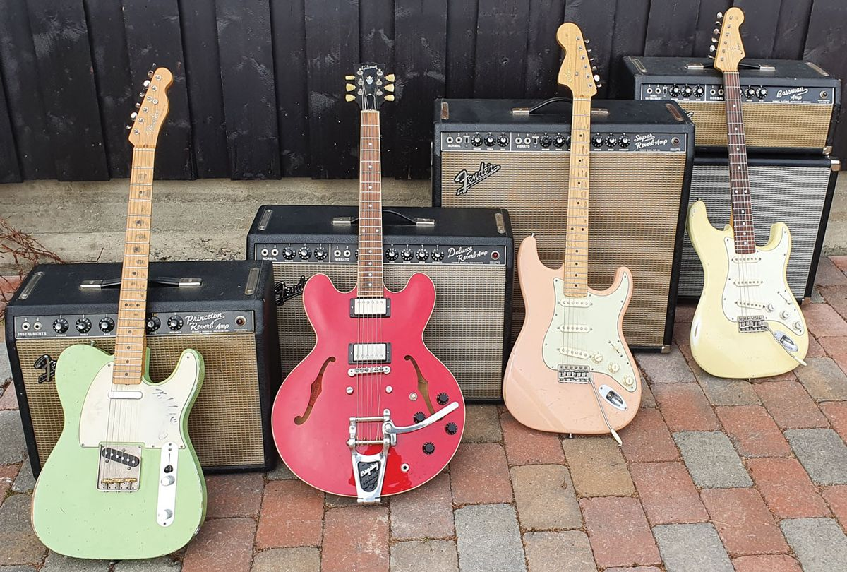 Like Peanut Butter and Chocolate: Classic Guitar & Fender-Amp Pairings