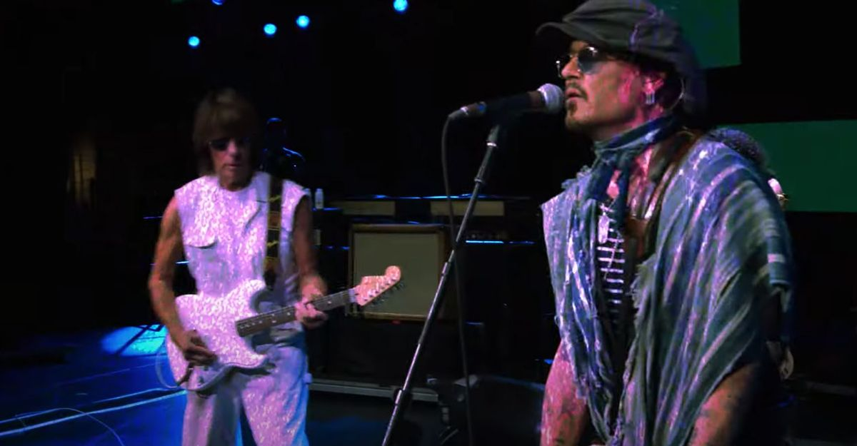 """Watch Jeff Beck and Johnny Depp's New Video for """"Isolation"""""""