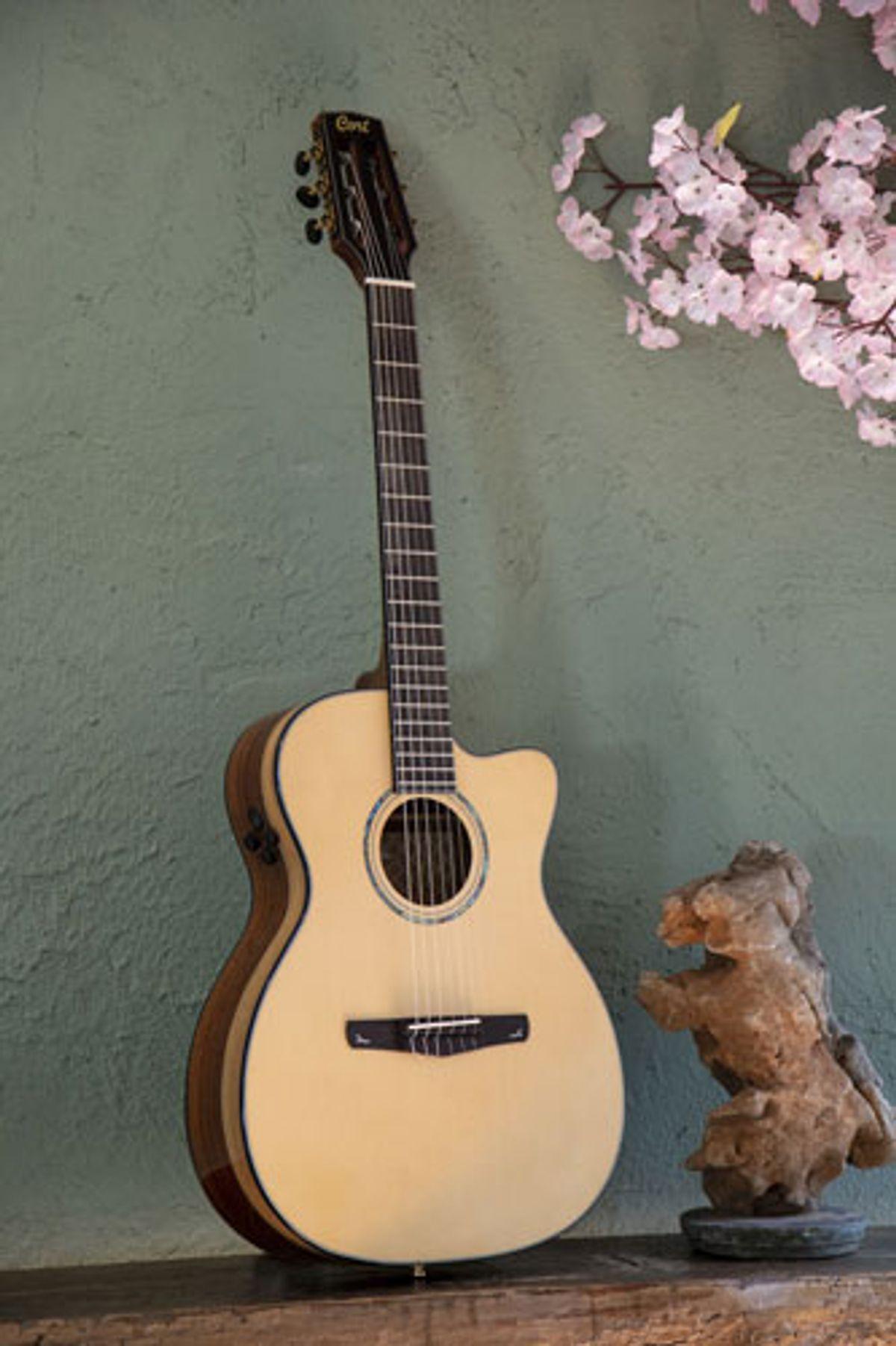 Cort Unveils the Gold-OC8 Nylon Classical Guitar