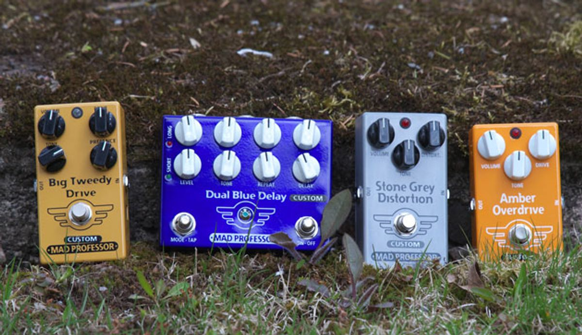 Mad Professor Amplification Announces New Modded Pedals