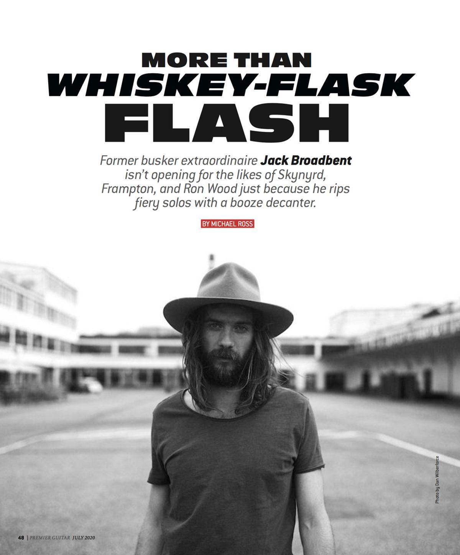 Jack Broadbent: More Than Whiskey-Flask Flash
