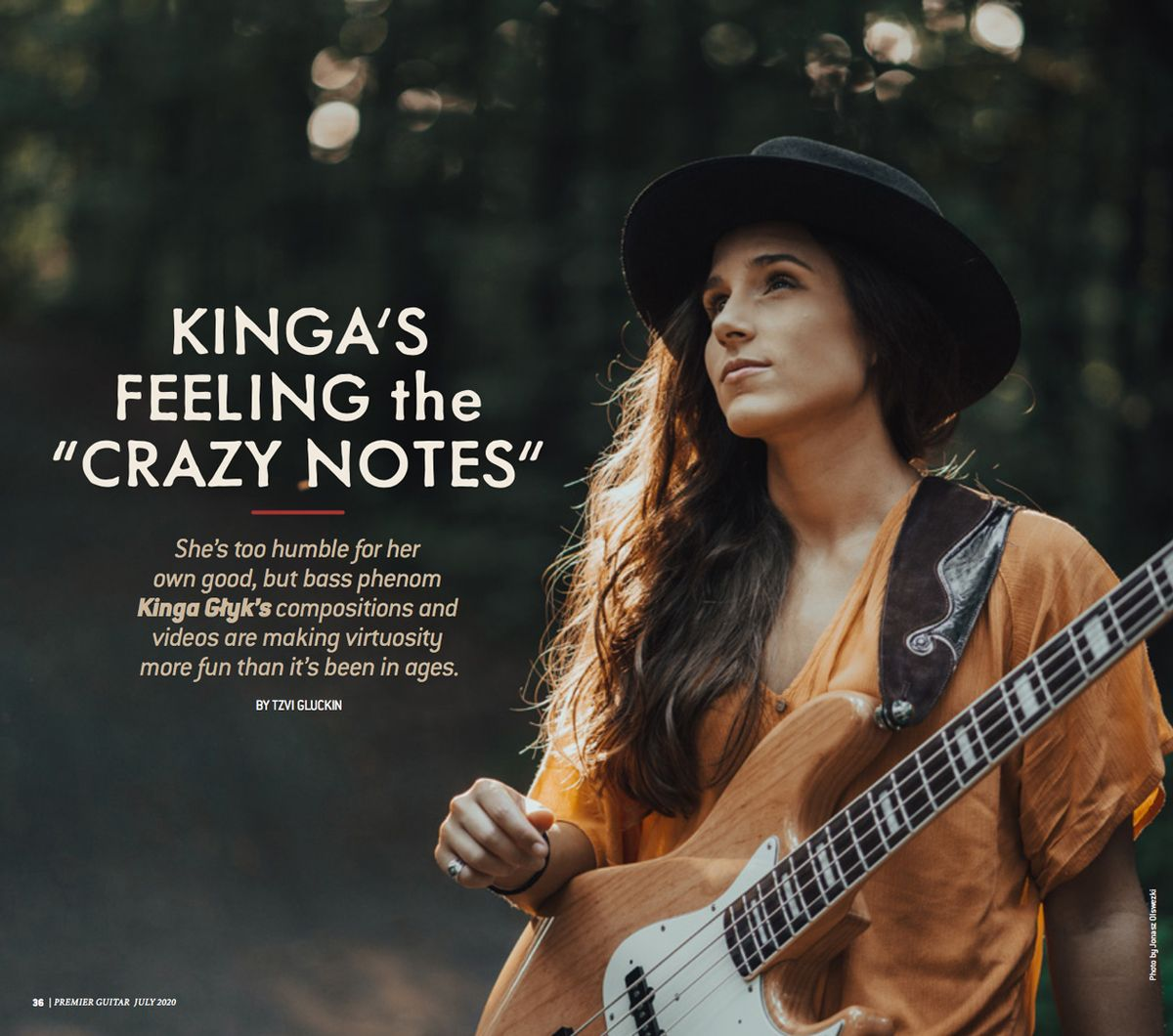 "Kinga's Feeling the ""Crazy Notes"""