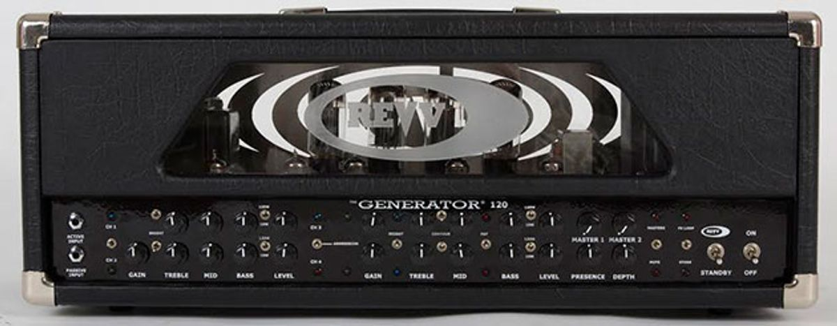 Revv Amplification Unveils Newly Revamped Generator 100 & 120 Heads