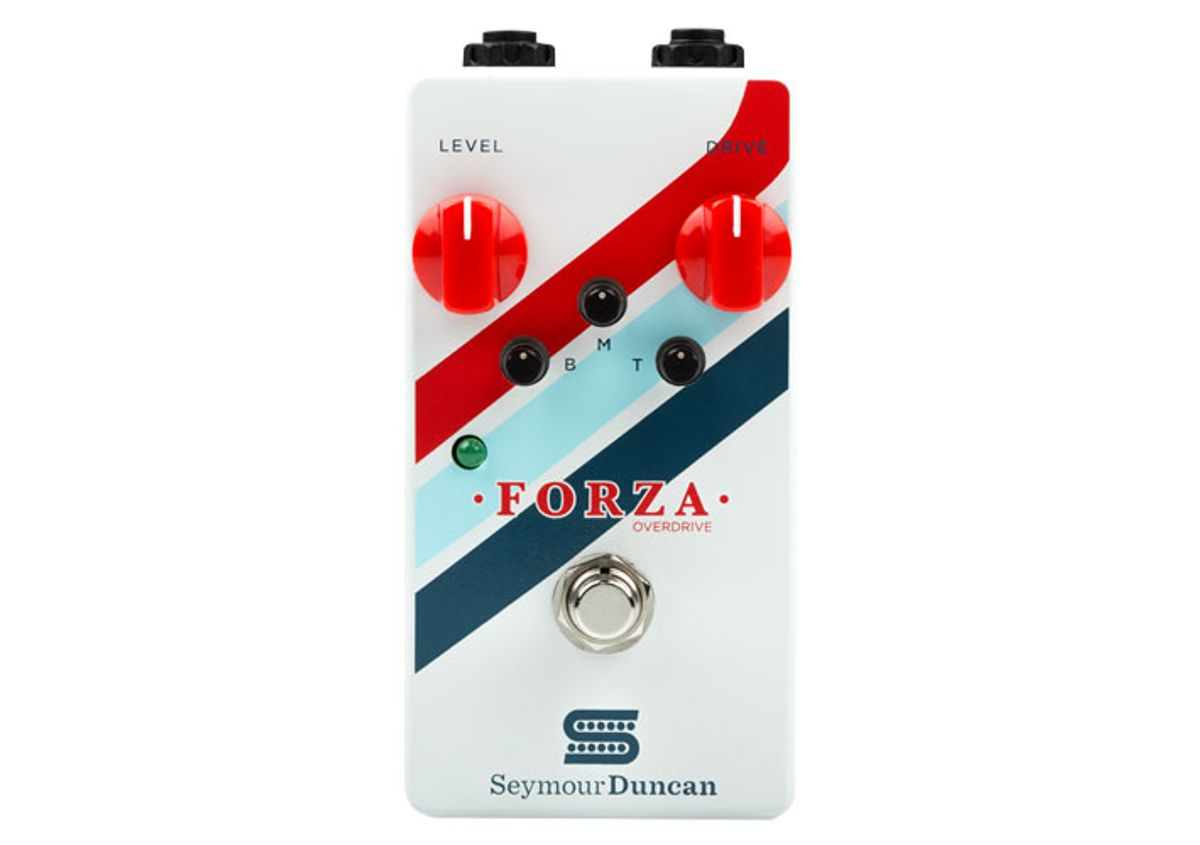 Seymour Duncan and Chicago Music Exchange Launch the Forza Overdrive