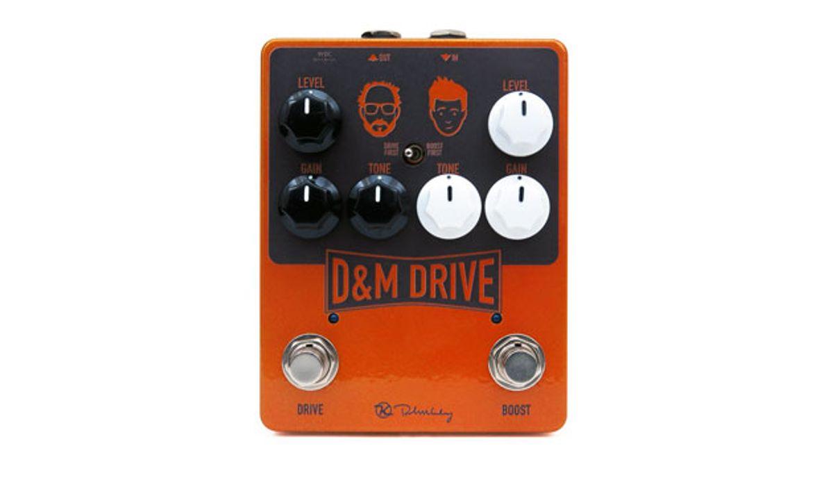 Keeley Electronics Announces the D&M Drive
