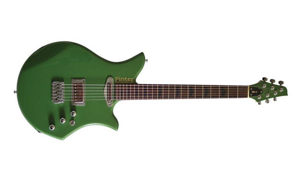 pinter instruments unveils the sb1 j jazz jr premier guitar. Black Bedroom Furniture Sets. Home Design Ideas