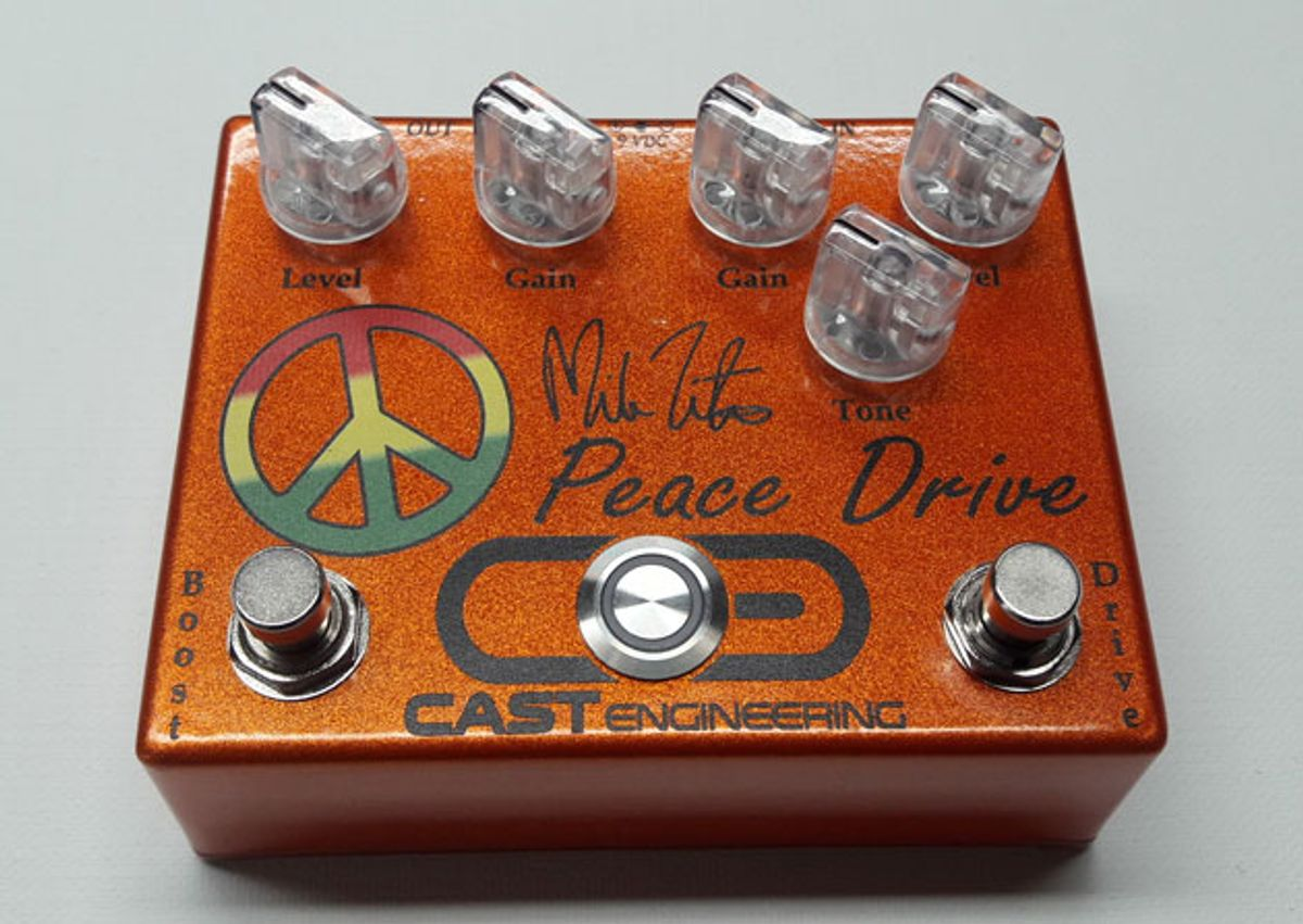 CAST Engineering Releases the Mike Zito Peace Drive
