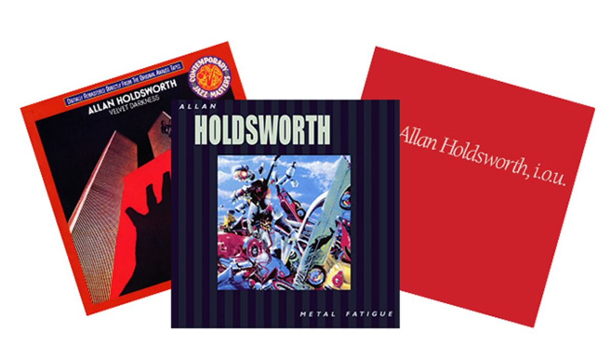 Allan Holdsworth's Fretboard Wizardry