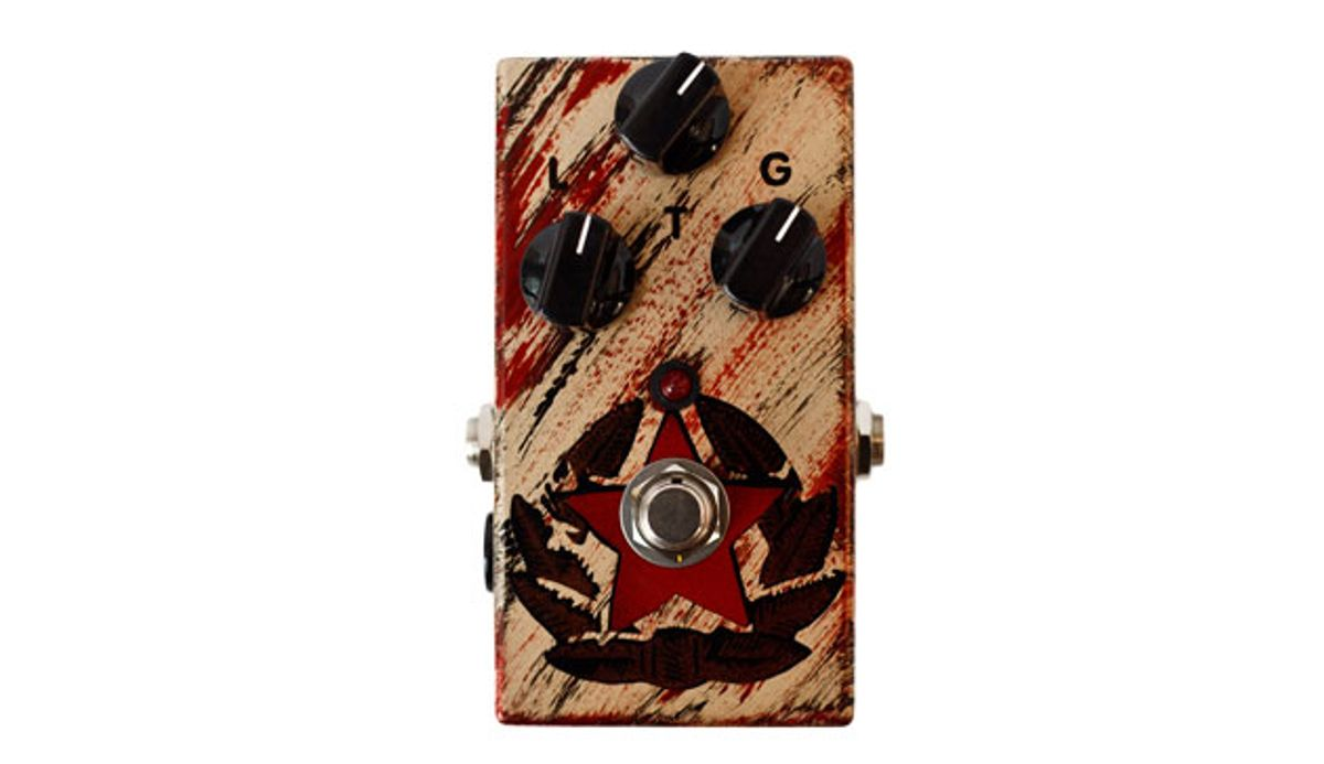 JAM Pedals Releases the Black Muck