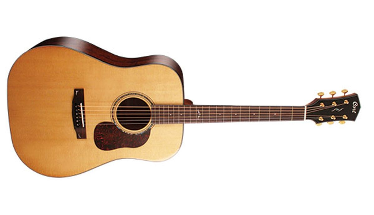 Cort Guitars Announces the Gold Series