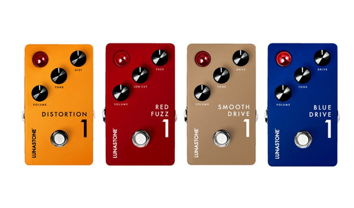 Lunastone Launches Four New Pedals