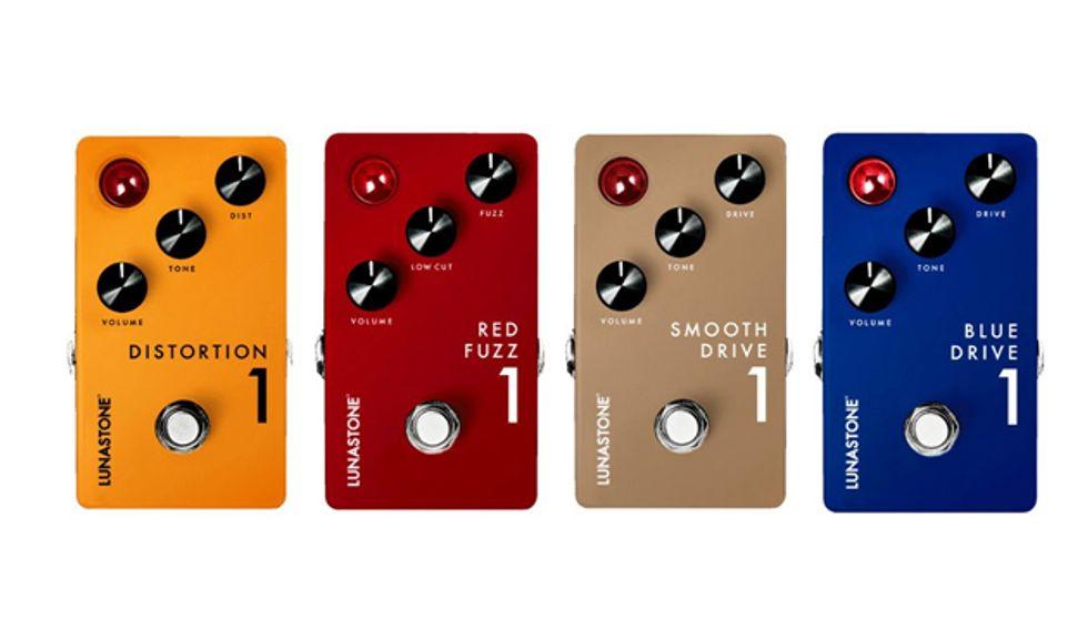 lunastone launches four new pedals premier guitar. Black Bedroom Furniture Sets. Home Design Ideas