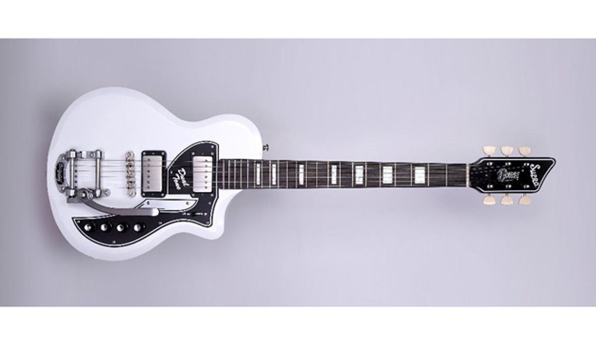 Supro Celebrates David Bowie with Limited-Edition Dual Tone Guitar