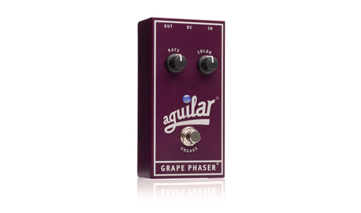 Aguilar Amplification Launches the Grape Phaser