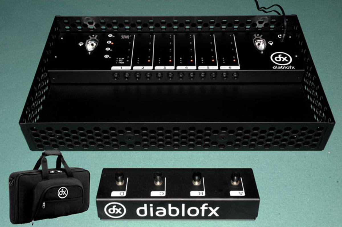Diablo FX Announces Sound Control 6 Wireless Guitar FX Control Pedal