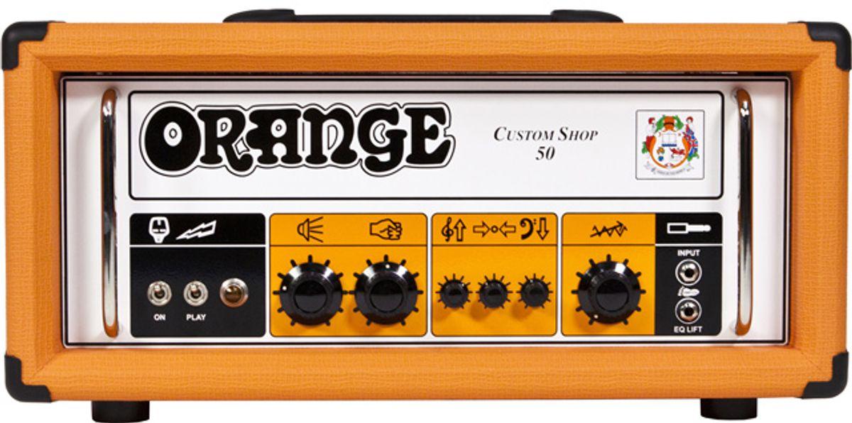 Orange Amplification Launches New Custom Shop 50