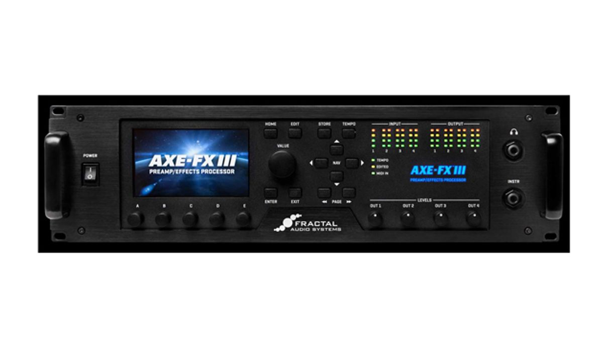 Fractal Audio Launches the Axe-Fx III