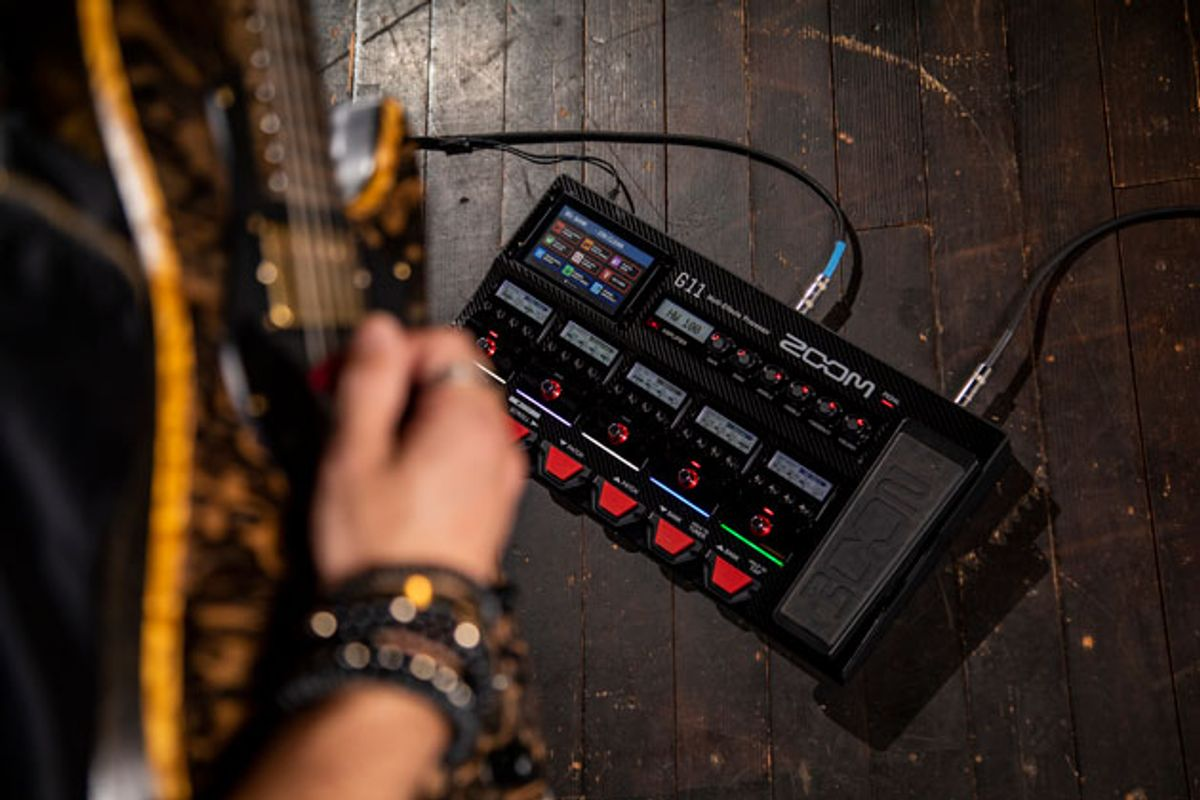 Zoom Releases the G11 Multi-Effects Unit