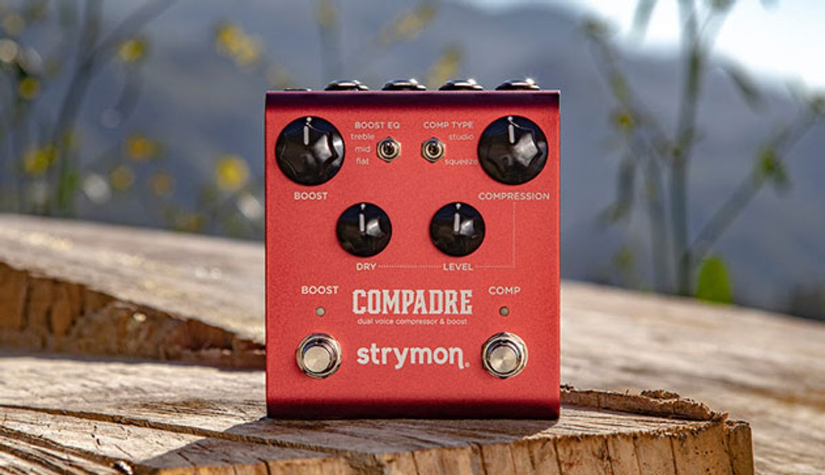 Strymon Introduces the Compadre Dual Voice Compressor & Clean Boost