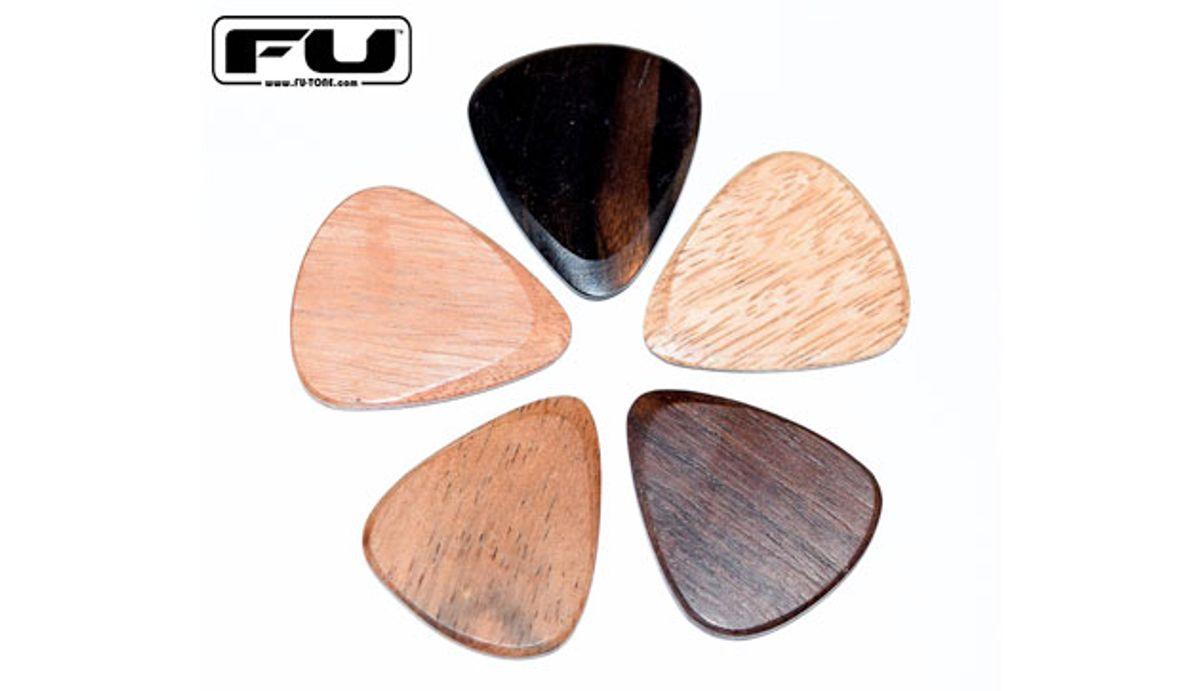 FU-Tone Announces New Exotic Wood Guitar Picks